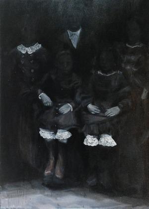 Lena ACHTELIK (ur. 1989), Z cyklu: Tajemniczy ogród, 2014