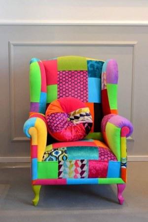 Juicy Colors, Uszak Patchwork multicolor