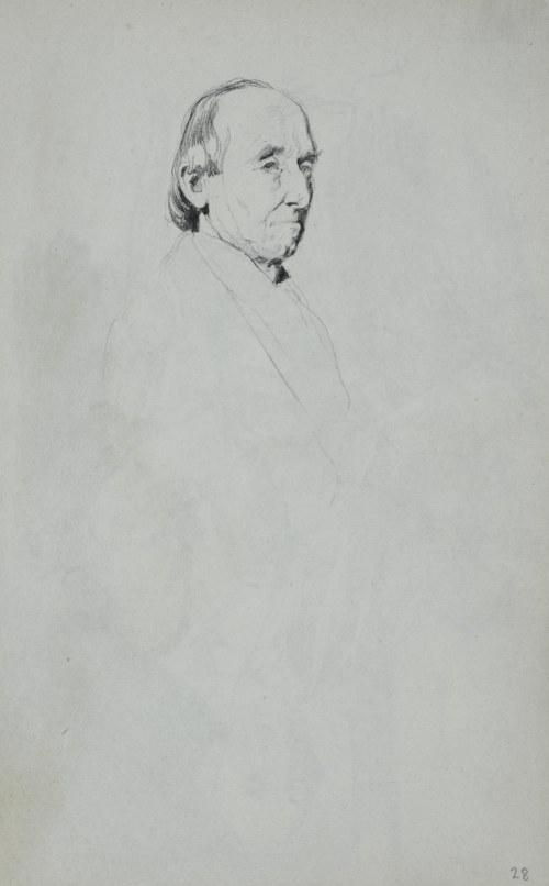 Stanisław Kaczor Batowski (1866-1945), Studium głowy starego mężczyzny