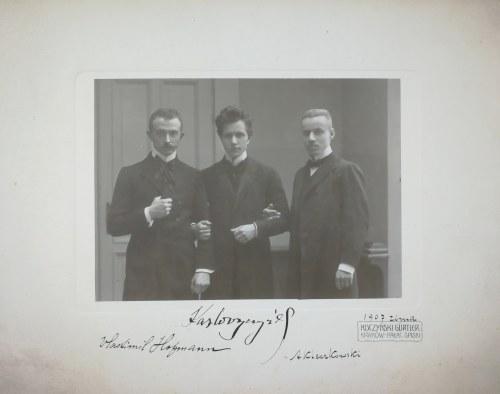 Wlastimil Hofman (1881-1970), Zdjęcie Wlastimila Hofmana wykonane przez Zakład Kuczyński Gurtlera z Krakowa, zima 1907