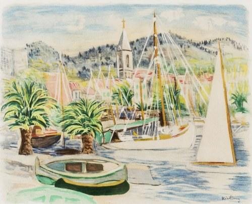 Mojżesz Kisling (1891 - 1953), Port (Ilustracja do: Jean Giono, Provence, Paris), 1954