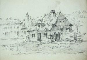 Tadeusz Rybkowski (1848-1926), Stary Przemyśl, 1879