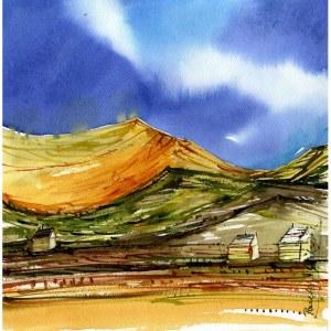 Pawelec-Gliklich, Niebo nad górami