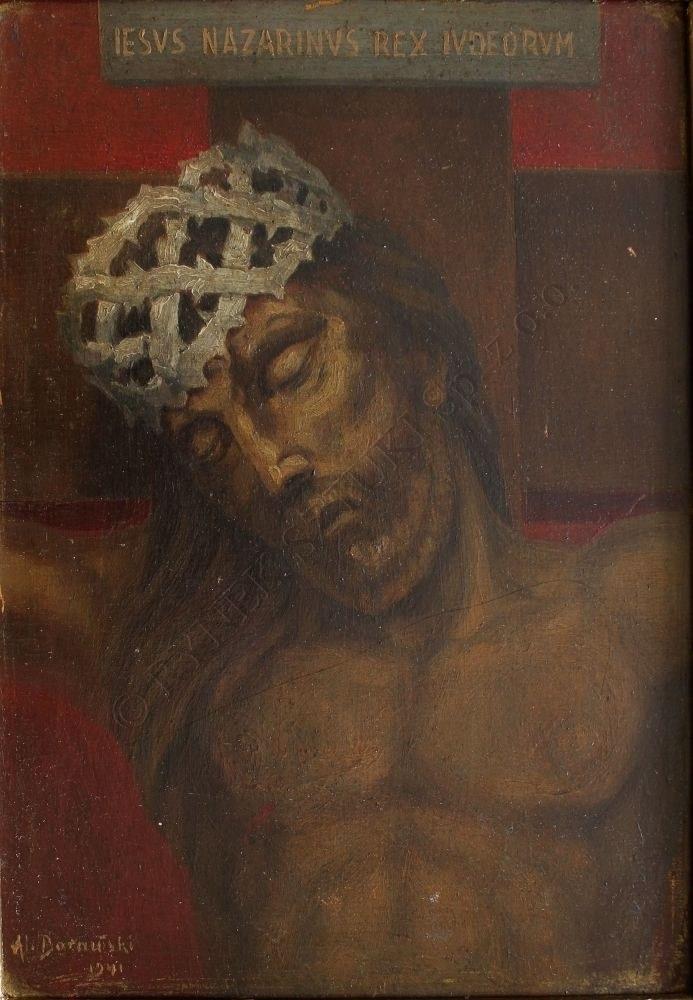 A. Borański(XX w.), Chrystus (1941)
