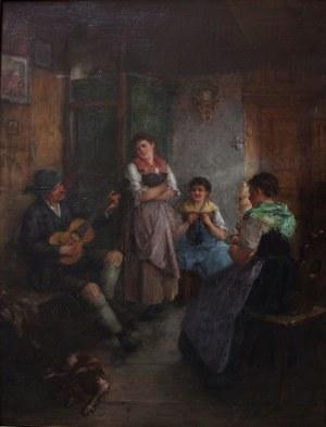 Artur Hutschenreuther (1849-1915), Wesoły wieczór