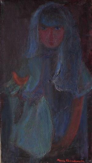 Maria Kawalerowicz (1916-1996), Dziewczyna z czerwonym ptaszkiem