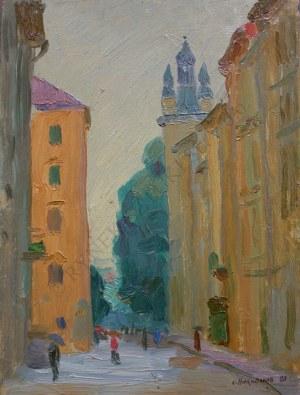 Sergiej Nikiforow (1920-2005), Lwów-para obrazów (1980)