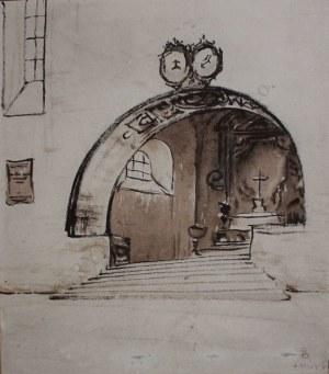 Stanisław Noakowski (1867-1928), Motyw architektoniczny(10.VIII.1916)
