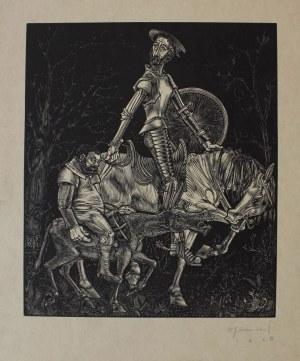 Willem Jacob Rozendaal (1899-1971), Don Kichot (1928)