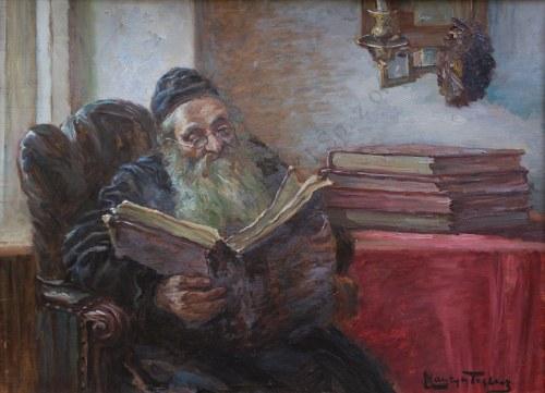 Maurycy Trębacz (1861-1941), Talmudysta nad księgą
