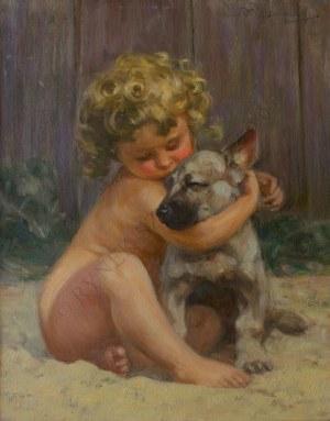 Bronisław Wiśniewski (1866-1939), Dziecko z psem