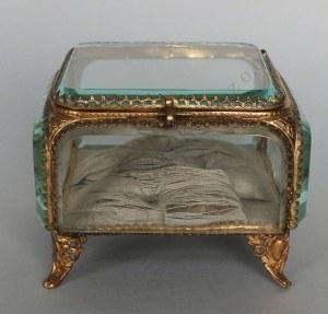 Szkatułka na biżuterię (Francja, pocz.XX w.)