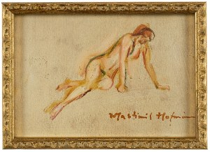 Wlastimil Hofman (1881 Praga - 1970 Szklarska Poręba), Akt