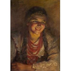 Sylweriusz Saski (1864 Nottingham – 1954 Kraków), Śmiejęca się góralka-Ludwina, 1934 r.
