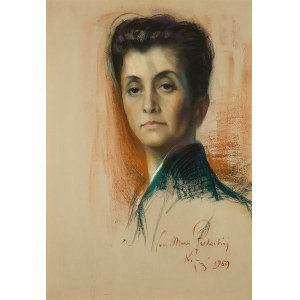 Józef Kidoń (1890 Rudzica – 1968 Warszawa), Portret kobiety (Maria Płachecka), 1959 r.