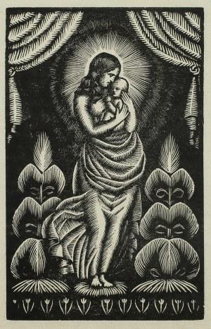 Władysław Skoczylas (1883 Wieliczka – 1934 Warszawa), Madonna