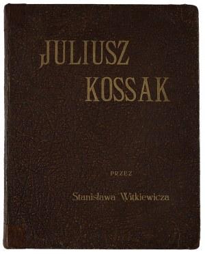 Julisz Kossak przez Stanisława Witkiewicza, 1912