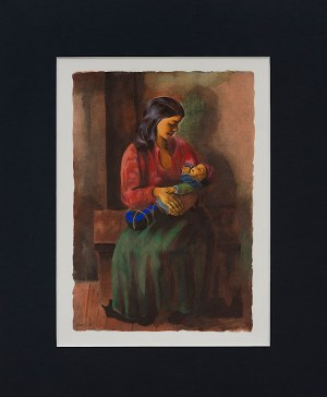 Mojżesz Kisling (1891 - 1953), Macierzyństwo, 1952