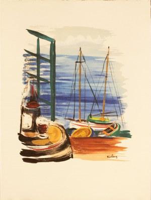 Mojżesz Kisling (1891-1953), Le Port de Cannes