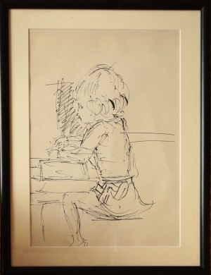 Otto Axer, Bez tytułu (Dziecko)