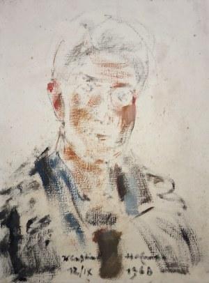 Wlastimil Hofman, Portret mężczyzny, 1968