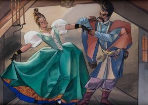 Zofia Stryjeńska, Taniec