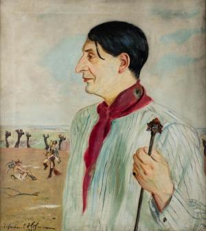Wlastimil Hofman, PORTRET LEONA WYRWICZA, 1922