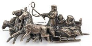BROSZKA W FORMIE SAŃ, Cesarstwo Rosyjskie, Ryga, 1908-1914