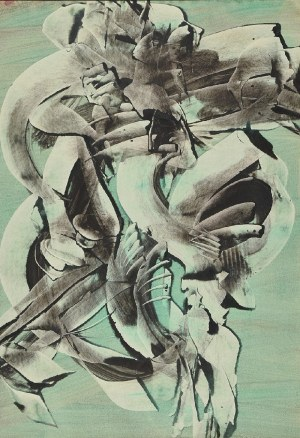 Alfred LENICA (1899-1977), Urojenie 5, 1964
