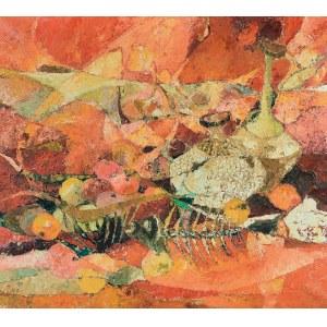 RYSZARD ZAJĄC (1929-2016), Martwa natura - Oranż, 1971