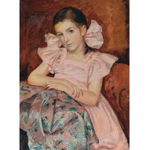 Adam BUNSCH (1896-1969), Różowe kokardy, 1937