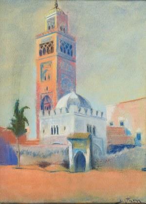 Adolf Abraham BEHRMANN (1876-1942), Motyw z arabskiego miasta