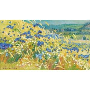 Henryk UZIEMBŁO (1879-1949), Kwitnąca łąka