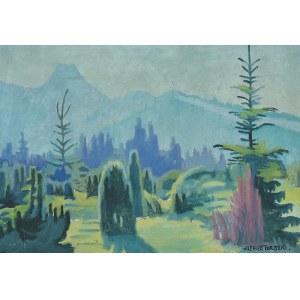 Alfred TERLECKI (1883-1973), Motyw podgórski