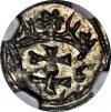 R-, Zygmunt I Stary, Denar 1546, Gdańsk, wspaniały