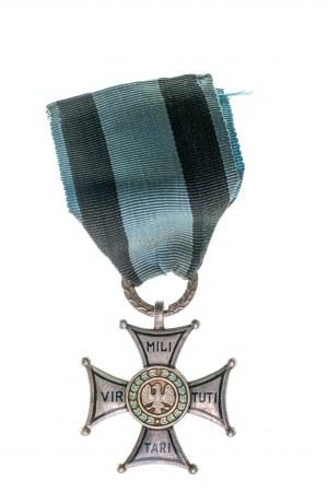 Krzyż Virtuti Militari, Wykonanie moskiewskie, cienkie napisy