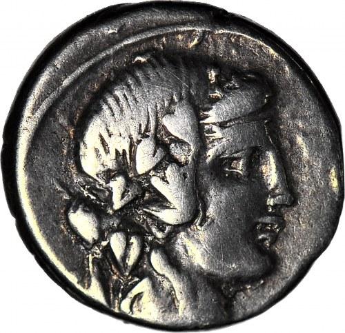 Republika, Q. Titius (90 pne) Denar