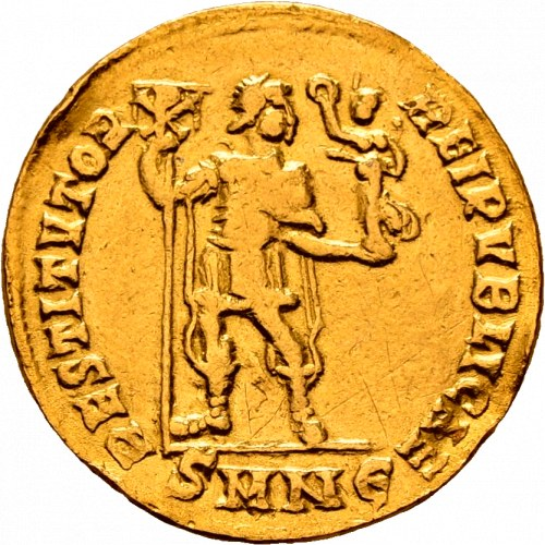 Walentynian I 364-375, solidus 364-367