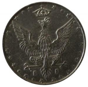 10 Fenigów 1917 - napis blisko obrzeża - PIĘKNE !