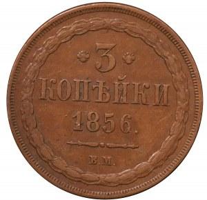 3 kopiejki 1856 BM