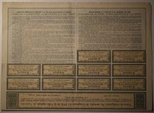 Warszawa, Obligacja 4 1/2% na 99 zł 1931