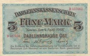 5 marek 4.04.1918, Kowno, seria D