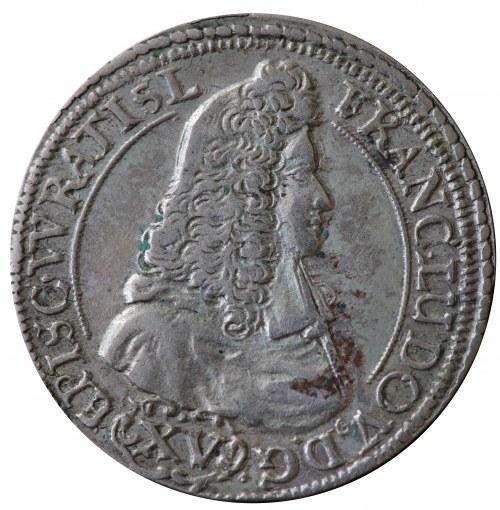 Śląsk, Franciszek Ludwik, 15 krajcarów Nysa 1694 LPH