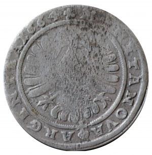 Chrystian wołowski, 15 krajcarów 1664