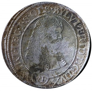 Sylwiusz Fryderyk, 6 krajcarów 1674 SP