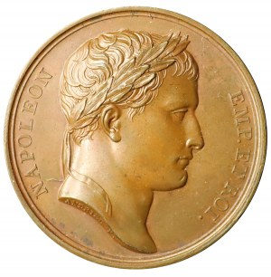 Napoleon Bonaparte - medal autorstwa Denon'a i George'a
