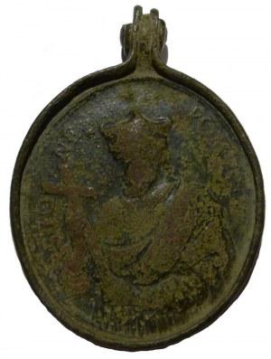 Medal z wizerunkiem Jana Nepomucena