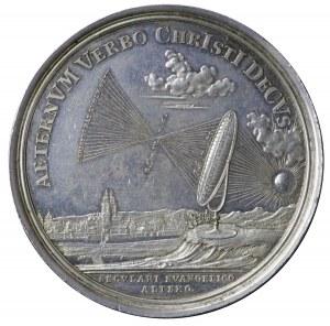 Saksonia, medal z 1717
