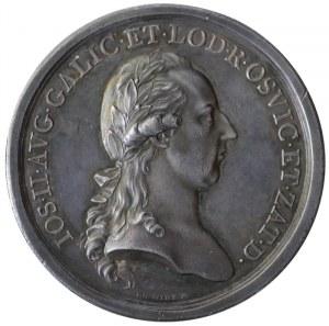medal upamiętniający rozbiór Polski, 1782