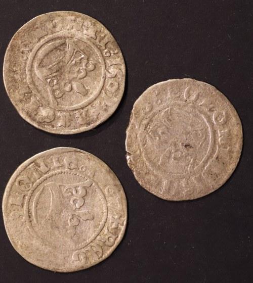 zestaw półgroszy, Zygmunt I Stary (1506 - 1548), 2 x 1507,1511